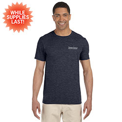 SOFT RETAIL STYLE T-SHIRT IN BLUE